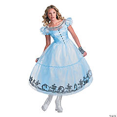 Deluxe Alice In Wonderland Costume for Women