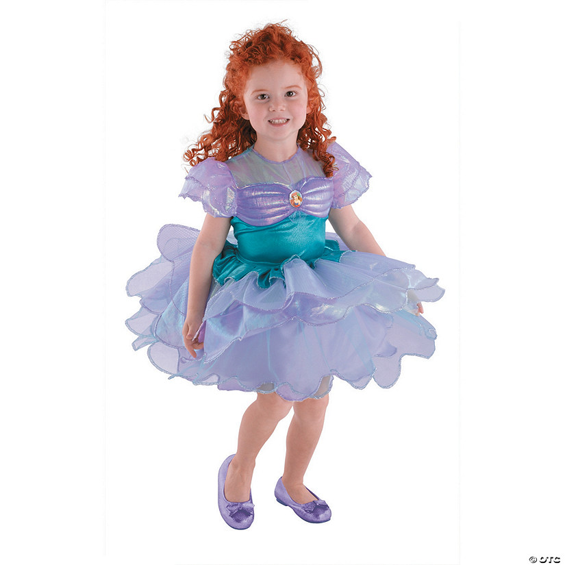 sc 1 st  Oriental Trading & Toddler Girlu0027s Disneyu0027s The Little Mermaid™ Ariel Ballerina Costume - 2T