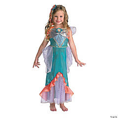 Ariel Deluxe Little Mermaid Costume for Girls