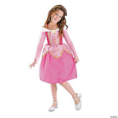 Disney Princess Sleeping Beauty Aurora Deluxe Girl's Princess Costume