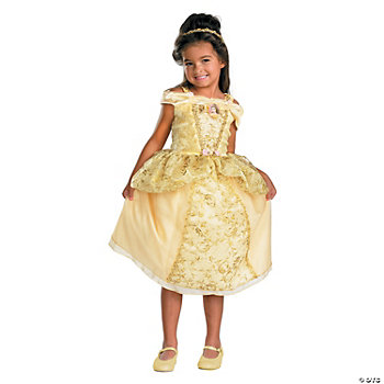 Belle Deluxe Girl's Costume