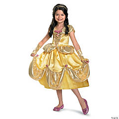 Belle Lamé Deluxe Princess Costume for Girls
