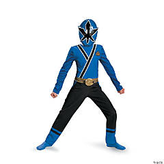 Boy's Classic Blue Ranger Samurai Power Rangers Costume