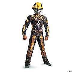 Boy's Classic Muscle Bumblebee Costume