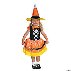 Candy Corn Cutie Toddler Girl's Costume