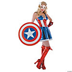 Sexy Captain America Costume for Women