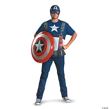 Captain America Moive Alternative Adult Men's Costume