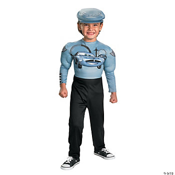 Cars 2 Finn McMissile Toddler's Costume