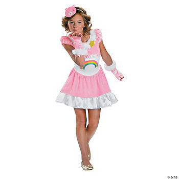 Cheer Bear Tween Girl's Costume