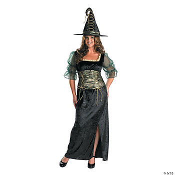 Emerald Witch Adult Women's Costume