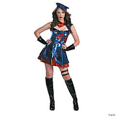 Gi Joe Cobra Adult Women's Costume
