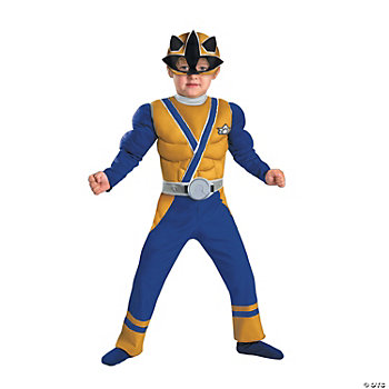 Gold Ranger Samurai Muscle Toddler's Costume