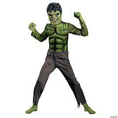 Hulk With Mask Boy's Costume