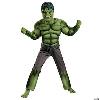 Avengers Hulk Muscle Toddler's Costume