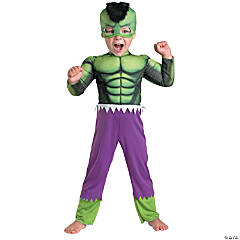 Toddler Boy's Hulk Muscle Costume