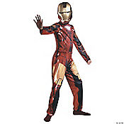 Boy's Mark 6 Iron Man Costume