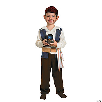 Pirates Of The Caribbean Jack Sparrow Toddler's Costume