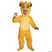 Lion King Simba Deluxe Boy's Costume
