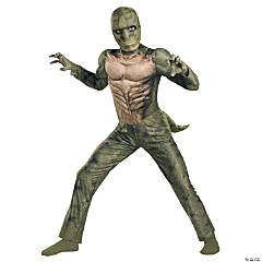 Boy's Classic Muscle Lizard From The Amazing Spiderman Costume
