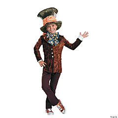 Mad Hatter Classic Costume for Boys
