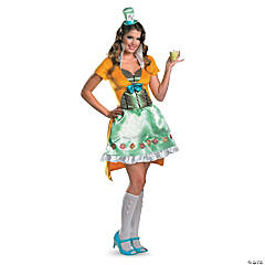 Mad Hatter Sexy Adult Women's Costume