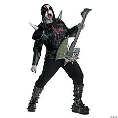 Metal Mayhem Adult Men's Costume