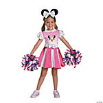 Minnie Mouse Cheerleader Costume for Toddler Girls