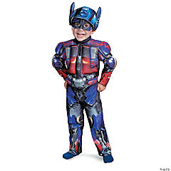 Boy's Muscle Optimus Prime Costume