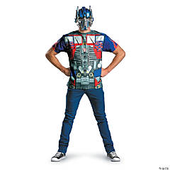 Plus Size Adult Man's Alternative Optimus Prime Costume