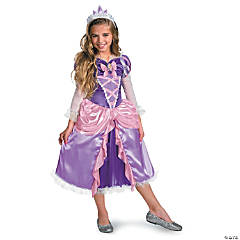 Rapunzel Tangled Deluxe Girl's Princess Costume