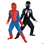 Boy's Reversible Spiderman Costume