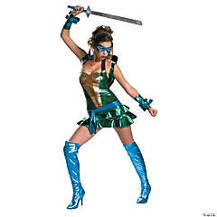 Sexy Leonardo Teenage Mutant Ninja Turtle Costume for Women