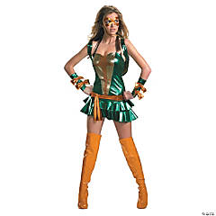 Sexy Michelangelo Teenage Mutant Ninja Turtle Adult Women's Costume
