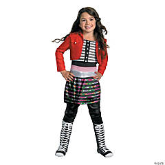 Shake It Up Rocky Deluxe Girl's Costume