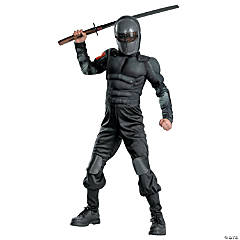 Snake Eyes Classic Muscle G.I. Joe Costume for Boys