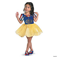 Snow White Ballerina Costume for Girls