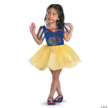 Snow White Ballerina Girl's Costume