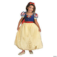 Snow White Prestige Costume for Girls