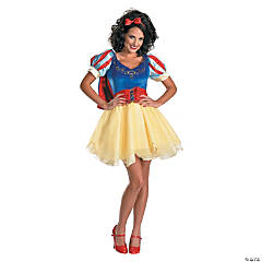 Sexy Snow White Prestige Costume for Women