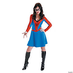 Adult Woman's Classic Spider-Girl Costume