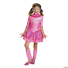 Pink Spider-Girl Deluxe Costume for Girls