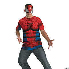 Adult Man's Alternative No Scars Spiderman Costume