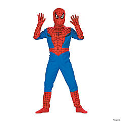 Standard Comic Spiderman Costume for Boys
