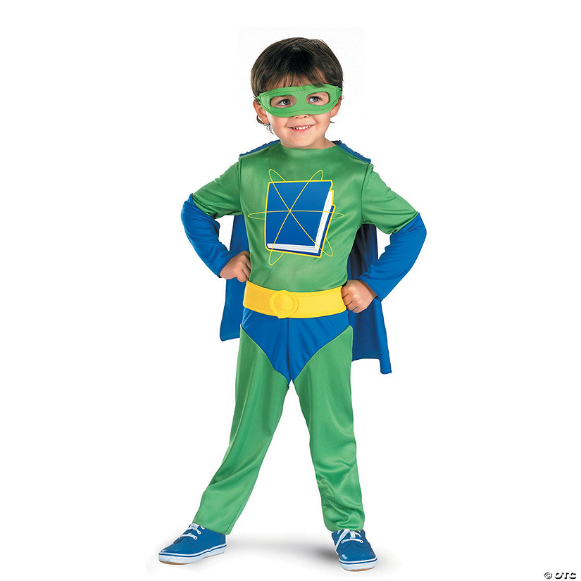 sc 1 st  Oriental Trading & Toddler Super Why™ Costume - 3T-4T