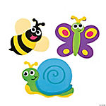 Foam Bug Magnet Craft Kit