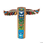 Native American Totem Pole Craft Kit