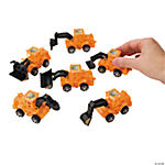 Plastic Pullback Construction Vehicles