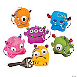 Vinyl Monster Collectable Key Chains