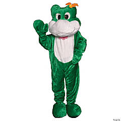 Frog Mascot One Size Adult Costume
