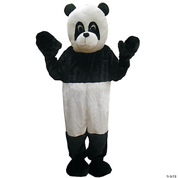 Panda Mascot One Size Adult Costume